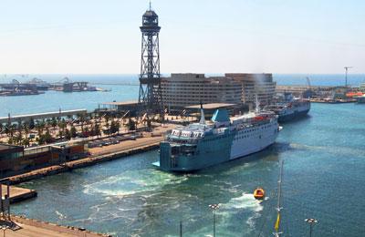 Βαρκελώνη Πλοία